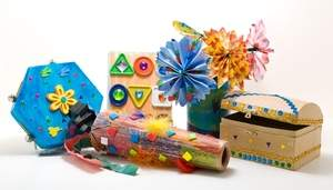 A sampling of the many fun projects kids can make for Mom this Mother's Day with Abracadabra! Educational Crafts!