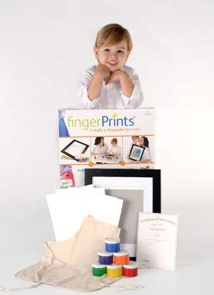 Fingerprints by ColorGoRound is the perfect Mother's Day Gift!