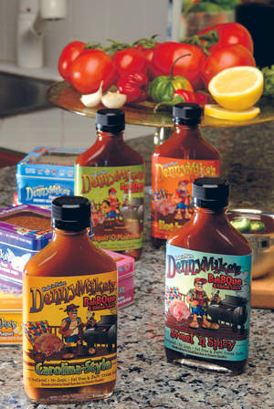 DennyMike's 'Cue Stuff Sauces and Rubs