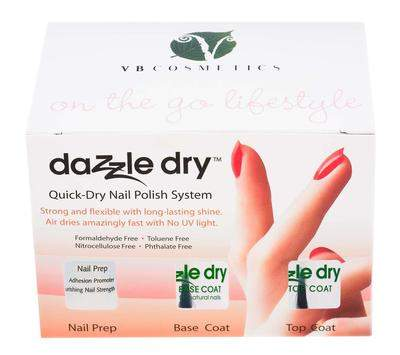 Dazzle Dry Quick Dry Nail Polish System Kit