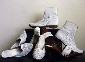 aida korman handmade shoes white