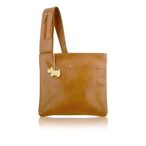 Large Pocket Bag in Tan