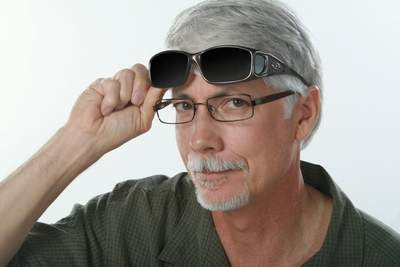 Fitovers, designed to be worn over you prescription glasses