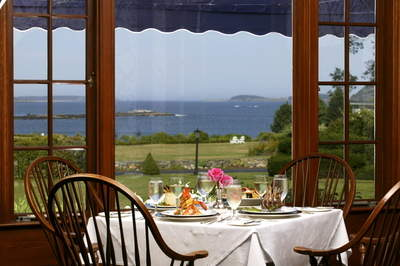 Enjoy the view during a festive Mother's Day meal