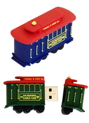 Cable Car USB Flash Drive