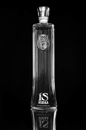 IS Vodka Bottle