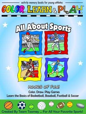 Color. Learn & Play Activity Memory Book