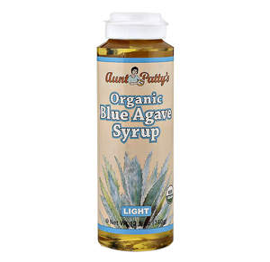 Organic Light Blue Agave, Raw
