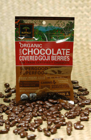 Kopali Organics Chocolate-Covered Goji Berries