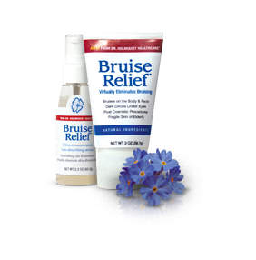 Bruise Relief Gel and Serum