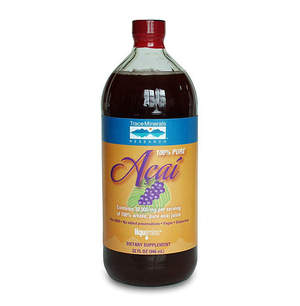 100% Pure Acai Juice contains 30,000 mg of pure, whole fruit acai.