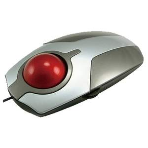 Beautiful QTronix Lynx R-15 Trackball is Ideal for Home or Office Use; Available from Trackball World