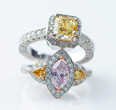 Colored Diamonds Guaranteed to Make Mom Smile