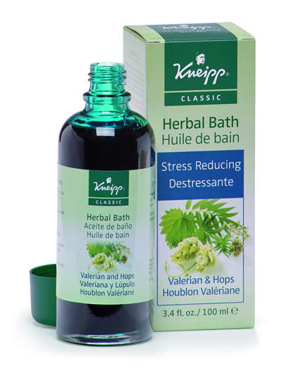 Valerian & Hops Herbal Bath Oil
