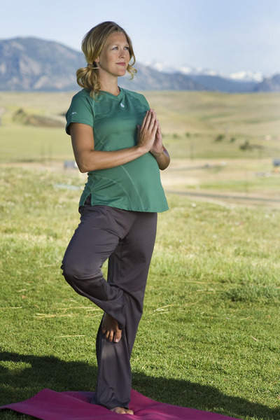 BornFit Lindsey Tee and Crestone Pant
