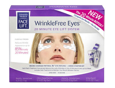 WrinkleFree Eyes 20-Minute Eye Lift System