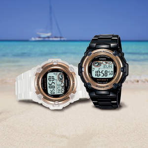 Casio's Beach Babies are the most stylish watches to soak up the sun this summer.