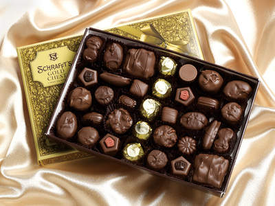Schrafft's Gold Chest Chocolates