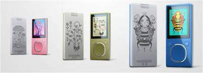 New Spring Zune Original Designs