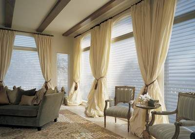 Silhouette(R) window shadings from Hunter Douglas