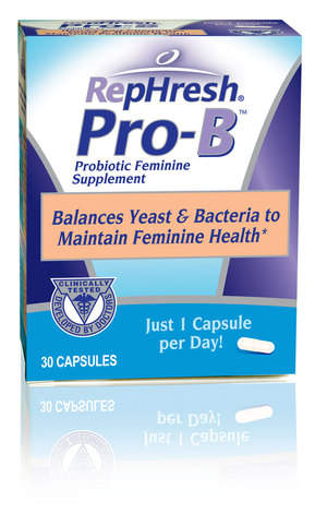 RepHresh Pro-B Probiotic Feminine Supplement