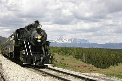 The Rio Grande Scenic Railroad offers views galore.