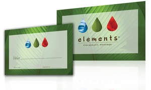 Elements Therapeutic Massage Gift Card