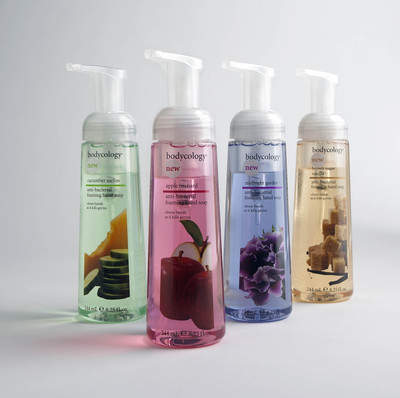 bodycology hand soaps make anti-bacterial beautiful both on your hands and your sink.