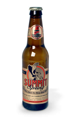 Summit Spring Limited Edition Retro Bottle