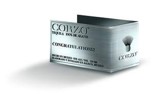 CORZO Personalized Label