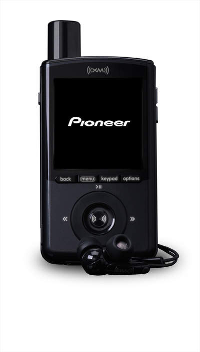 XM AND PIONEER INTRODUCE THE WEARABLE XMP3 SATELLITE RADIO