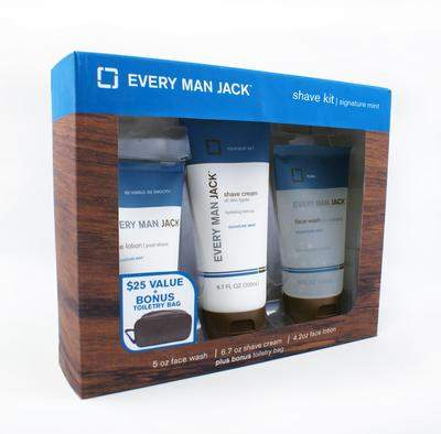 Every Man Jack Dads & Grads Signature Shave Kit