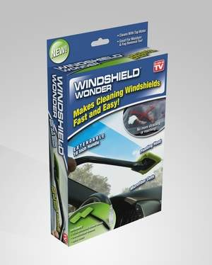 Windshield Wonder makes cleaning your windshield easy!