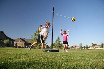 The New At-Home Tetherball System from Lifetime Products