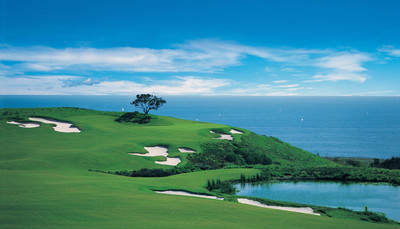 Father's Day Golf Package at Pelican Hill: Virtually Every Hole has a Fantastic Ocean View