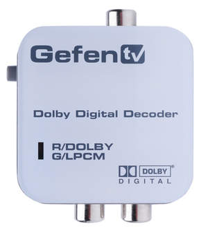 GefenTV Dobly Digital Recorder