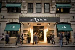 NYC's Algonquin Hotel in the heart of Midtown