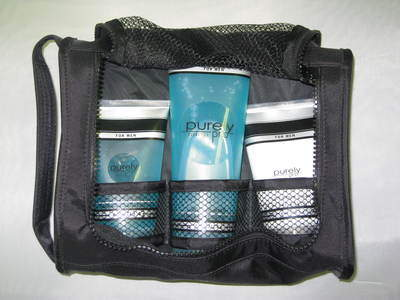 Purely Pro Men's Essentials Kit includes All Over Wash, Soft Shave Cream and Post Shaving Soothing Gel