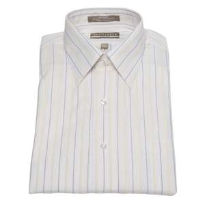 Van Heusen Broadcloth Striped Fitted Dress Shirt