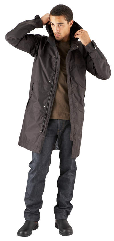 Men's Nau Succinct Trench, ideal for active Dads this Father's Day!