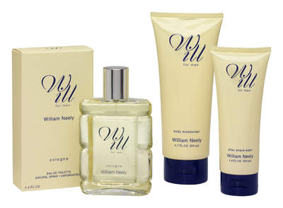 WILL Eau De Toilette, Body Lotion & After Shave Balm