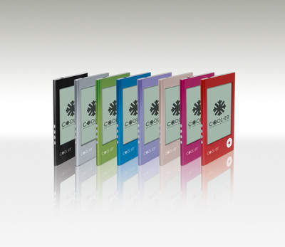 COOL-ER e-reader comes in eight (8) vibrant colors