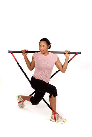 Safe and easy, the Body Bar Strength Band adds more resistance - and excercise options - to the Body Bar® brand weighted bar.