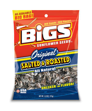 BIGS seeds are delicious, USA-made, come in a re-sealable bag,