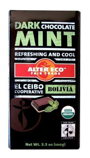Alter Eco Mint Dark Chocolate