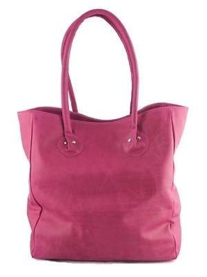 Cheeky Living's Rugged Tote Bag in Raspberry