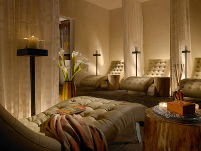 The Relaxation Room at La Posada de Santa Fe Resort & Spa