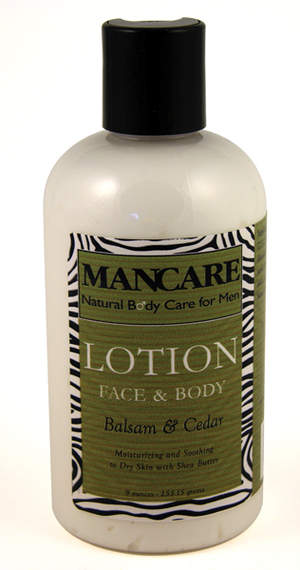 SunFeather's Balsam & Cedar Face & Body Lotion for Men - 9 oz