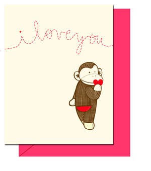 Hello!Lucky's Sock Monkey Every Occasion Card Kit