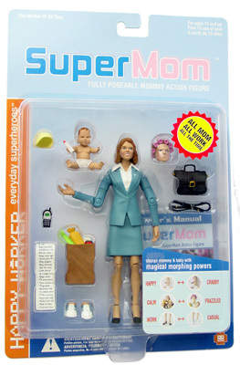 SuperMom Action Figure